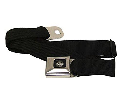 Buckle Down Volkswagen Seat Belt Blk Webbing front-75830