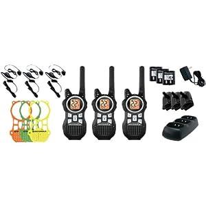MOTOROLA MR350TPR 35-Mile Talkabout(R) 2-Way Radio Triple Pack with Accessories by Motorola