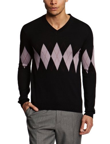 Pringle ME356 Men's Jumper Dark Navy Medium