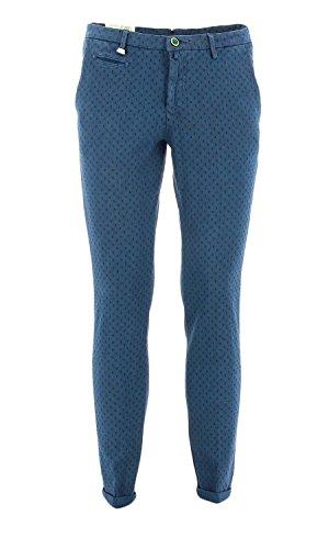 782 ALAN41 Barbati Pantalone chino Blu 48 Uomo