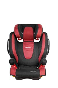 RECARO Monza Nova Seatfix Autositz Gruppe 2/3 (15-36 kg), Cherry