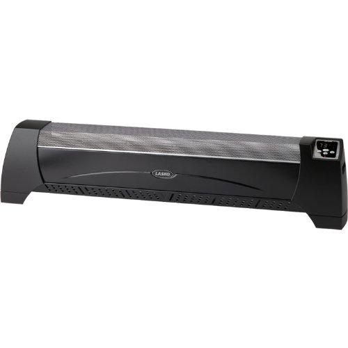 Lasko 1500 Watt Low Profile Electric Silent Room Heater With Digital Display