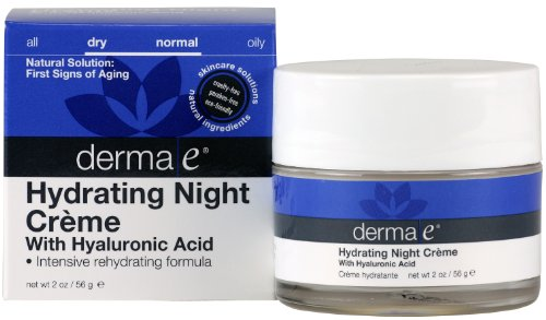 derma e Hyaluronic Acid Night Crème, 2Ounces Picture
