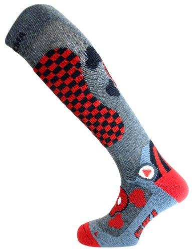 enforma-Veste-de-ski-Freeski-chaud-Chaussettes-de-compression-de-crne