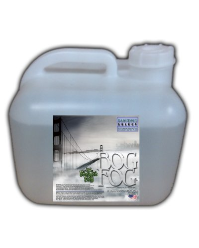 Bog Fog ® - Extreme High Density Fog Juice - HDF Fog Machine Fluid - 2.5 Gallon Square - Best Rated and Best Seller - Water Based, American Made and Just Plain Awesome (Martin Fog Machine)