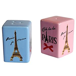 Paris Salt And Pepper Shakers Kitchen Dining