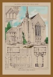 30 x 20 Stretched Canvas Poster Edward Cambell Church