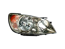 Lexus IS300 Headlight Oe Style With Hid Without Hid Kit And Without Sport Pkg Headlamp Right Passenger Side