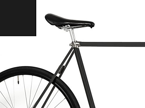 """MOOXI-BIKE Fahrrad-Folie """"Glänzendes Schwarz"""" für den Rahmen deines Fahrrad (ausreichend für ein ganzes Rads)"""