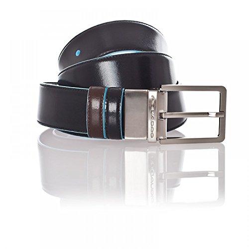 Cintura uomo reversibile con fibbia ad ardiglione Blue Square PIQUADRO