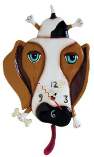 Buckley the Dog Clock