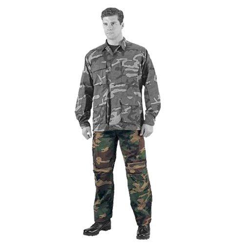 5947 Ultra Force Woodland Camouflage B.D.U. Pants - Rip-Stop-Medium [Apparel]