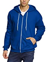 Anvil - Sweat-shirt à capuche Homme - Anvil Men's Full-Zip Hooded Fleece