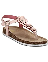 Yepme Women's Pink Synthetic Sandals - B01KUYHNX2