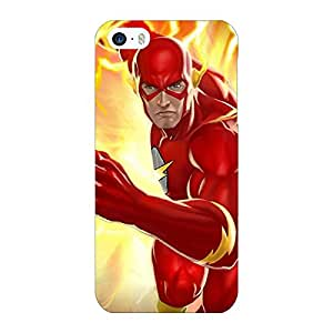 Jugaaduu Superheroes Flash Back Cover Case For Apple iPhone 5c