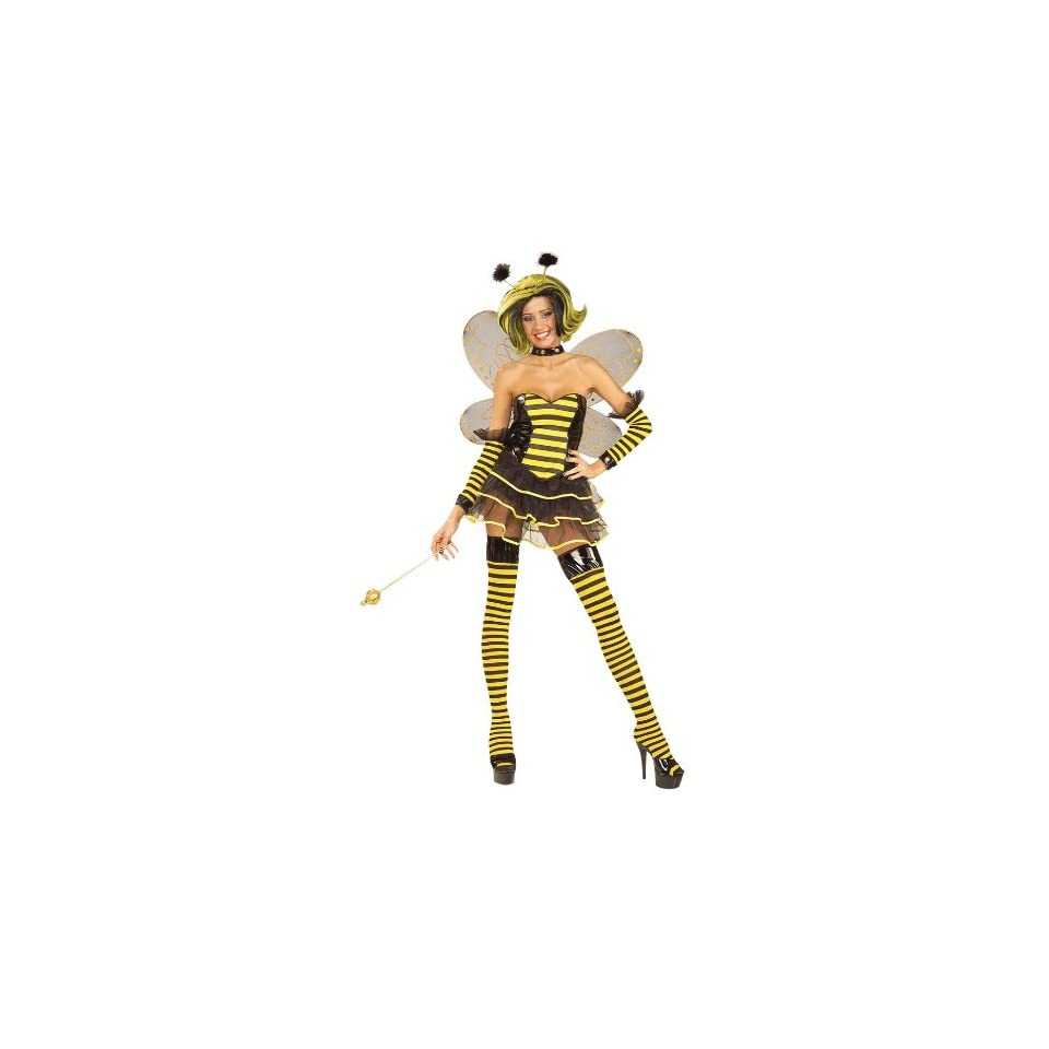 Queen Bee Sexy Adult Halloween Costume Size 14 18 X Large (XL)