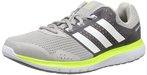 Adidas Duramo 7 M Scarpe da corsa, Uomo, Grigio (Grau (Clear Granite/Ftwr White/Semi Solar Slime)), 42