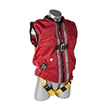 Guardian Fall Protection 02730 Red Mesh Construction Tux Harness, XL