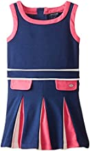 Tommy Girl Little Girls39 Color Blocked Pleated Toddler Dress