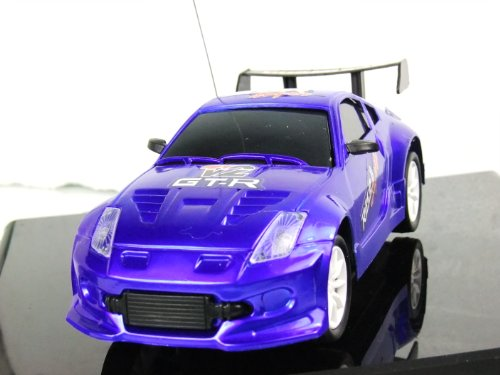 Mint Diecast 1/24 Scale Full Function Radio Control Racing Car Model Blue
