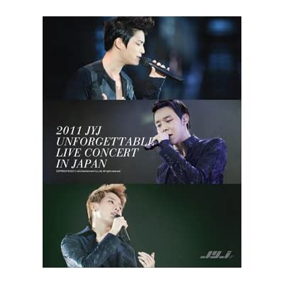 2011 JYJ UNFORGETTABLE LIVE CONCERT IN JAPAN をAmazonでチェック!