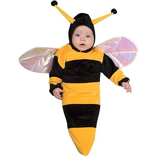 Baby Bumble Bee Bunting Costume Size Newborn to 9 Months