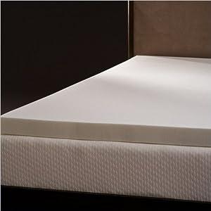 6. Comfort Magic Mem Cool 3 Inch Memory Foam Mattress Topper Twin