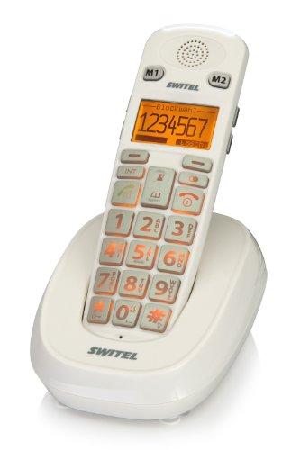 dc731 Telefon (schnurlos), Weiß