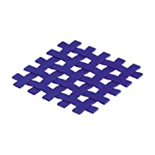 Silico Silicone Chatai Trivet 172 x 172 mm for Refrigerator, Microwave Blue