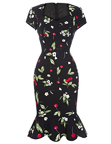 Belle-PoqueVintage-Mermaid-Hips-Wrapped-Bodycon-Pencil-Dresses-with-Sleeve
