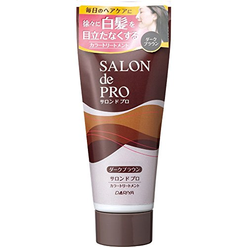 DARIYA-SALON-de-PRO-Color-Treatment-Dark-Brown-160g-for-Gray-Hair-Japan-Import