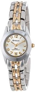 Armitron Women's 752435 NOW Two-Tone Easy to Read Round Dial Dress Watch