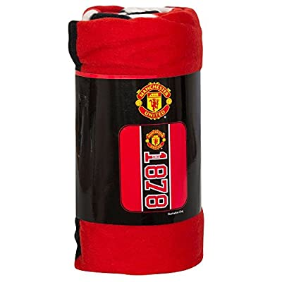 "Manchester United Established Feece Blanket (50"" x 40"")"