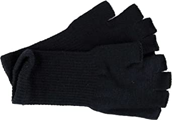 Fingerless Gloves - Comes in several colors! (Black)