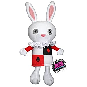 "White Rabbit - Alice In Wonderland - 7"" Plush Toy"