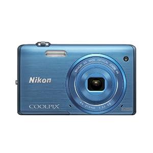 【クリックで詳細表示】Nikon デジタルカメラ COOLPIX S5200 光学6倍ズーム Wi-Fi対応 スカイブルー S5200BL