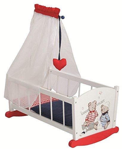 Roba 98835 – Teddy College Puppenwiege jetzt kaufen