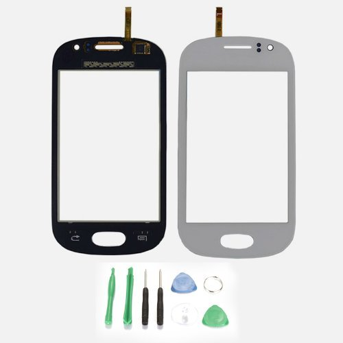 Touch Screen Glass Digitizer Replacement For Samsung Galaxy Fame S6810 - White