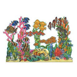 Jointed Seascape Party Accessory (1 count) (1/Pkg)