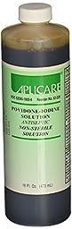 Aplicare 82-226F PVP Prep Solution, Flip-Top Bottle, 16 oz. (Pack of 12)
