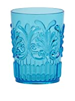 Sheratonn Set Vaso 6 Uds. Deco Azul