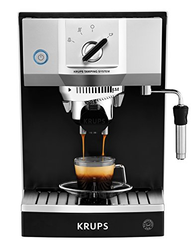 Review Of KRUPS XP5620 15-Bar Pump Espresso Machine with KRUPS Precise Tamp Technology, Black