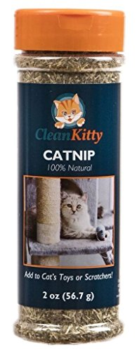 CleanKitty CatNip Leaves - Makes Cat Go Crazy - Helps Aid Digestion, 2.0 oz
