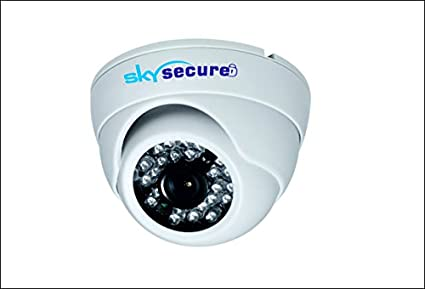 Sky-Secure-SS-1290-FH2DI-480TVL-Dome-CCTV-Camera-(Pack-of-2)