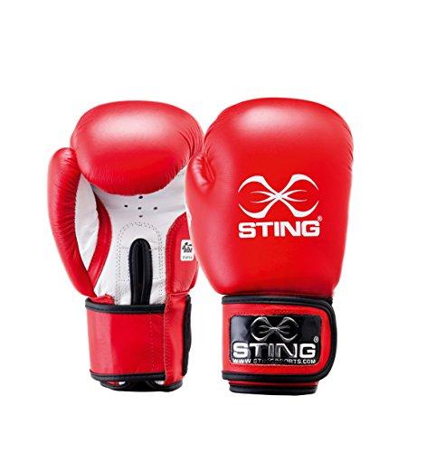Guanto boxe pelle competizione omologato AIBA 12OZ