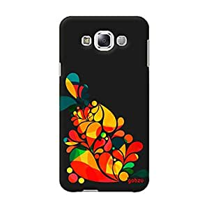 Gobzu Printed Back Covers for Samsung E7 - Ornamental