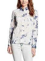 LTB Jeans Camisa Mujer Parfalos (Blanco / Azul)