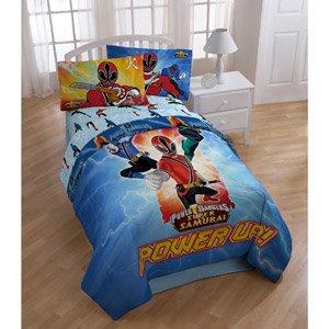 power rangers samurai single bed comforter padded duvet