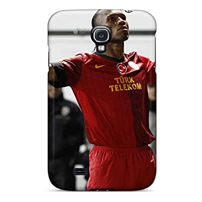 Hot BsjmTLY7499cachP Case Cover Protector For Galaxy S4- The Player Of Galatasaray Didier Drogba