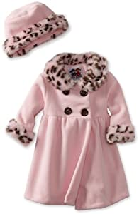 Good Lad Baby-Girls Infant Animal Trim Coat by Good Lad
